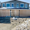 Salisbury: House at 240 Northend Blvd in Salisbury that was hit by a wave Saturday morning. Jim Vaiknoras/staff photo