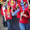 Salisbury: Kindergartners at Salisbury Elementary School paraded around for a Chinese New Year's celebration with masks they had made. The youngsters were learning about the holiday and that this is the year of the snake. Bryan Eaton/Staff Photo