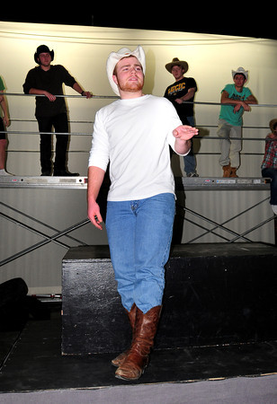 """West Newbury: Pentucket High three sport player Tim Freiemuth is also one of the stars in the upcoming play """"Footloose."""" Bryan Eaton/Staff Photo"""