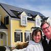 Newburyport: Andy Gilbert got his wife Maureen a unique birthday gift, an array of solar panels on their Ocean Avenue, Newburyport home. Bryan Eaton/Staff Photo