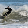 Salisbury: Alex Perrot of Amesbury takes advantage of the high wave caused by Blizzard Nemo as he surfs off Salisbury Beach Sunday afternoon.Jim Vaiknoras/staff photo