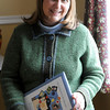 Newbury: Childrens authur Laurie Collins. Jim Vaiknoras/staff photo