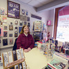 Newburyport: Liz Scneider of Middle Street books , the store lost it's lease and is looking for a new space in newburyport. Jim Vaiknoras/staff photo