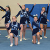 Byfield: The Triton cheerleaders  during their performance at the Cape Ann Championships at Triton Sunday. Jim Vaiknoras/staff photo