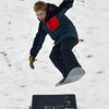 Newburyport: Will Trail catches some air snow boarding at Marches Hill in Newburyport Thursday afternoon.Will was there with his mom Martha and his sister Shay Jim Vaiknoras/staff photo