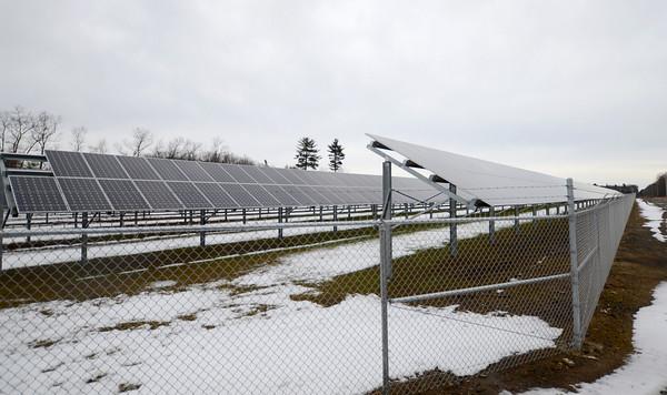 Salisbury: The True North Solar farm on Rabbit Road in Salisbury. Jim Vaiknoras/staff photo