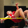 Ipswich: Amesbury's Courtney Shay competes in the high jump against Ipswich and Masconomet. Bryan Eaton/Staff Photo