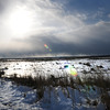 Salisbury: A wintry landscape greeted people who went to Salisbury Beach State Reservation on Wednesday afternoon. What this photo doesn't show is the wind that continued to make the temperature feel colder than it was. Bryan Eaton/Staff Photo