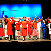 "Byfield: The Triton High Schools cast of ""Anything Goes"" in dress rehearsal. Bryan Eaton/Staff Photo"