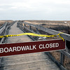 Newbury: The boardwalk in parking lot one at Parker River National Wildlife Refuge is closed as last week's storm damaged the ocean side of it. Lots two and three are also closed and the road is closed at Hellcat Swamp. Bryan Eaton/Staff Photo