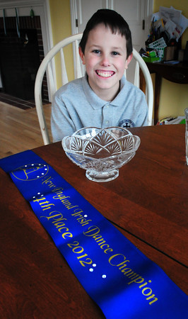 Newburyport: Ian Reilly, 11, is participating in the World Championships of Irish Dance in Boston. Bryan Eaton/Staff Photo