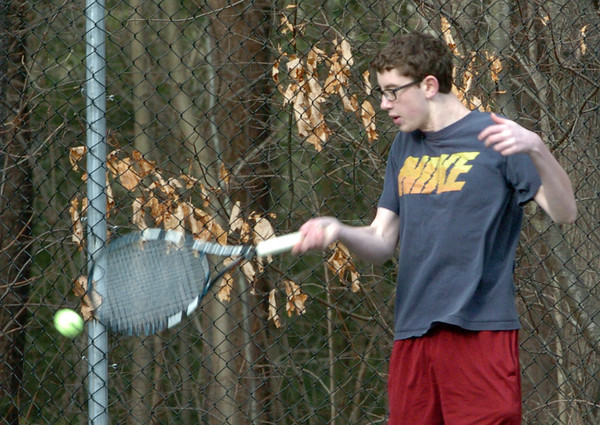 Newburyport: Dan Orencole in practice Thursday. Bryan Eaton/Staff Photo