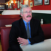 Newburyport: Newburyport City Councilor Richard Sullivan sits down with the Daily News at Angie's Lunch to discuss his run for mayor. Bryan Eaton/Staff Photo