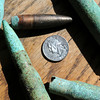 Salisbury: Ammunition from smaller WW II weapons have been found in the area of the gunnery structures over the years. Bryan Eaton/Staff Photo