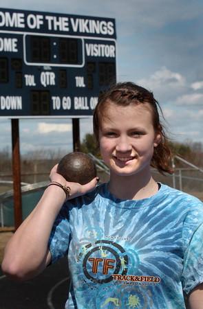 Byfield: Triton's Kerstin Darnsney. Bryan Eaton/Staff Photo