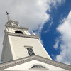 The First Religious Society steeple in Newburyport. Jim Vaiknoras/staff photo