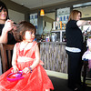 Salisbury: Ava Bohlen, 5, in pink and Noras Cuddy, 5, get their hair done by Jen Berube and Liz Perkins of Skyy Salon in Salisbury at the seaglass Princess Brunch at Seaglass on Salisbury Beach Sunday morning. JIm Vaiknoras/staff photo