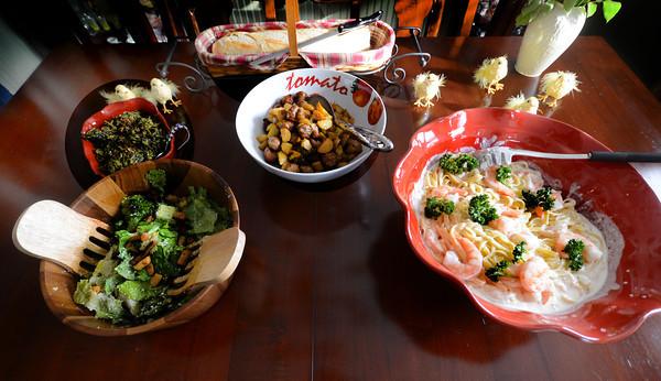 Newburyport: Cook of the month Pam Federico. JIm Vaiknoras/staff photo