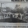 Byfield: Daily News clip from 1990 about a honey locust tree planted 23 years ago in Byfield Village Center in memory of dedicated member of Byfield Methodist Church.JIm Vaiknoras/staff photo
