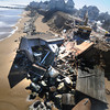 Newbury: 41 Annapolis on Plum Island is demolished Saturday due to damage from Friday's storm. Jim Vaiknoras/staff photo