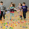 salisbury: Kids sprint to gather eggs in the gym at the Salisbury Elementary School Saturday during the annual Easter Egg Hunt put on by the Salisbury Parks and Recreation Commission.
