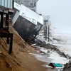 Newbury:41 Annapolis Way on Plum Island after it was damaged at high tide. Jim Vaiknoras/staff photo