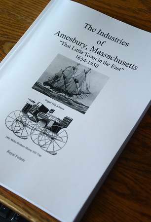 Amesbury: The Industries of Amesbury by Royal Feltner . Jim Vaiknoras/staff photo