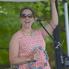 JIM VAIKNORAS/Staff photo STacey Peasley performs with her band at Family Day in Maudslay Saturday.