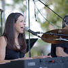 JIM VAIKNORAS/Staff photo Local band Unnamed Color performs Saturday Night in Market Landing Park.
