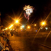 newburyport: Saturday nights Yankee Homecoming fireworks light up the sky over Merrimack Street in Newburyport.Jim Vaiknoras/Satff photo August 2, 2009