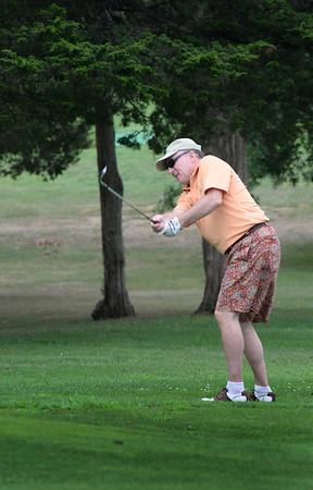 Bryan Eaton/Staff photo. Phil Gardella on the ninth hole.