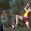 Newburyort: Newburyport's Nick Fay in the high jump. Bryan Eaton/Staff Photo