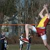 Newburyort: Newburyport's Nick Fay in the high jump. Bryan Eaton/Staff Photo