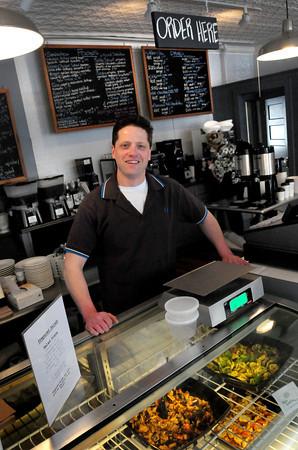 Newburyport: John Coyle is back with Middle Street Foods in Newburyport. Bryan Eaton/Staff Photo