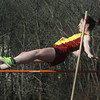 Newburyport:  Newburyport pole vaulter Katie Gorenflo. Bryan Eaton/Staff Photo