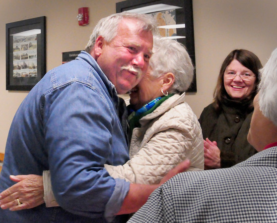 Salisbury: Freeman Condon who was a Salisbury selectman for nine years in the 1990's got elected back on the board last night. Bryan Eaton/Staff Photo