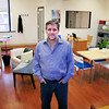 Amesbury: Ed Justen, program director of WorkSpace, a coworking shared office space in downtown Amesbury.
