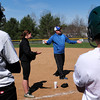 Groveland: Pentucket softball coach Danielle Mason, left, had UMass Lowell coach on hand for an instructional program at Groveland Pines. Bryan Eaton/Staff Photo