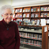 West Newbury: Librarian Kay Gove at the GAR Memorial Library in West Newbury is retiring after 47 years. Bryan Eaton/Staff Photo