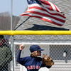 Amesbury: Shea Cucinotta of the Amesbury Little League Red Sox pitches against the Phillies at the Cashman School Sunday.