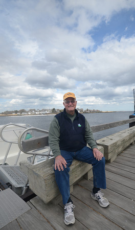 newburyport: Bill Tarpin will be offering a water taxi service off Newburyport's waterfront. Jim Vaiknoras/staff photo