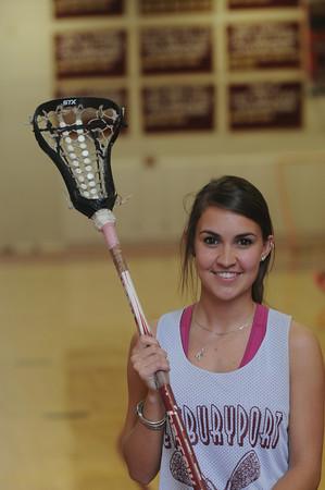 Newburyport senior Kate McCauley, a three-sport athlete, is looking to lead the lacrosse team to a Cape Ann League title. Jim Vaiknoras/Staff Photo