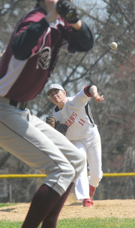 Amesbury: Amesbury pitcher Andy Reidy. Jim Vaiknoras/staff photo