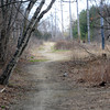 Newburyport: Section of the old rail road bed near High Street in Newburyport. Jim Vaiknoras/staff photo