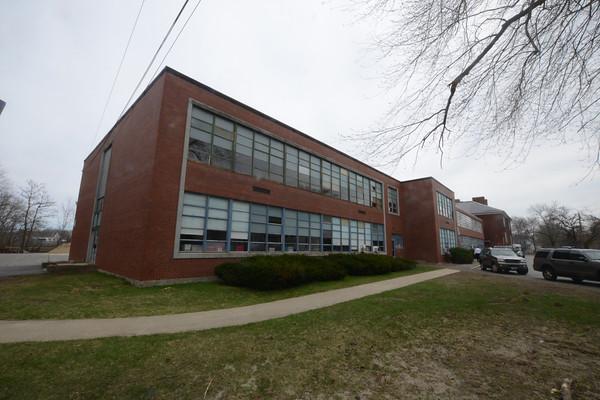 JIM VAIKNORAS/Staff photo The Spaulding School in Salisbury.