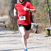 JIM VAIKNORAS/Staff photo Jimmy Rogers wins the Tortoise and Hare 10K Race at Lions Park  in Salisbury Saturday morning.