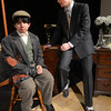 JIM VAIKNORAS/Staff photo  Jack Labbe as Billy Flynn and Augie Vesely as Amos Hart in the Amesbury high School production of Chicago.