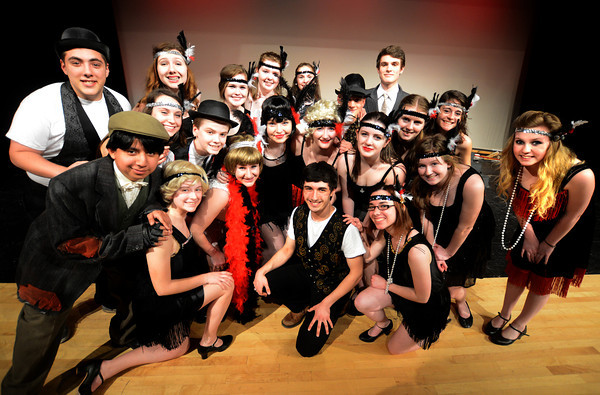 JIM VAIKNORAS/Staff photo  The cast in the Amesbury high School production of Chicago.