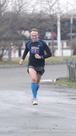 JIM VAIKNORAS/Staff photo  Pat Fullerton wins the Greater Newburyport Boston Strong Run.