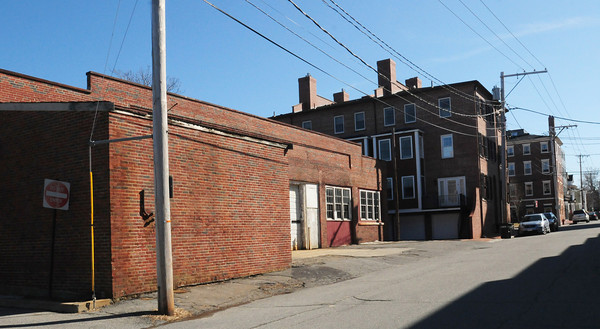 Newburyport: Nine Titcomb Street, the Garrison Inn is in back, right of photo. Bryan Eaton/Staff Photo